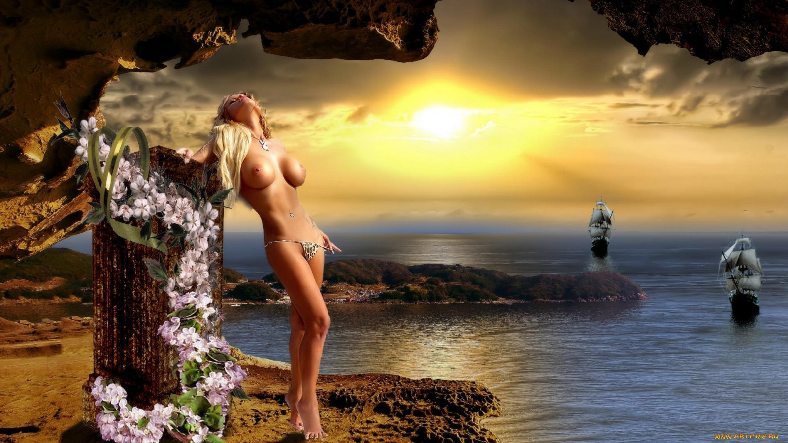 Nude fantasy women desktop wallpaper softcore tube
